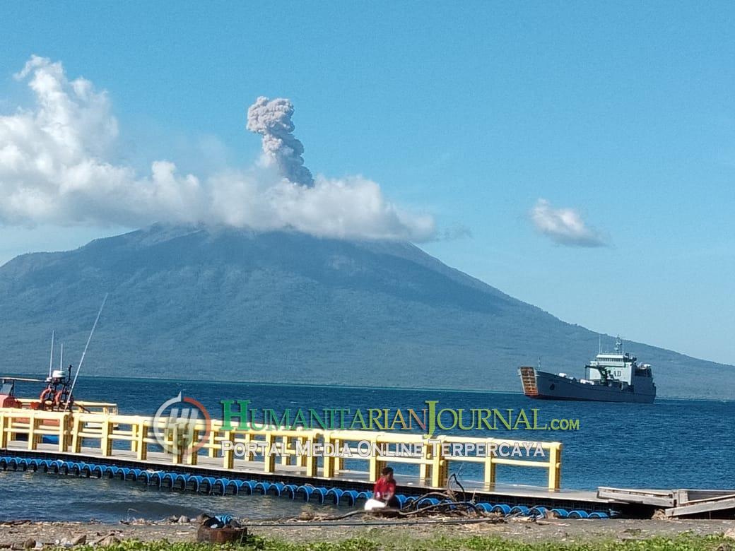 Waspadalah, Sistim Gunung Ile Lewotolok Dilaporkan Mulai Tertutup