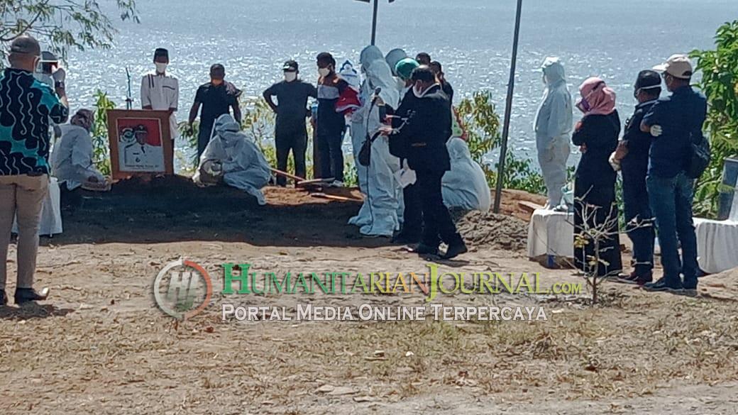 Bupati Sunur Dikebumikan di Kediamannya Kuma Resort