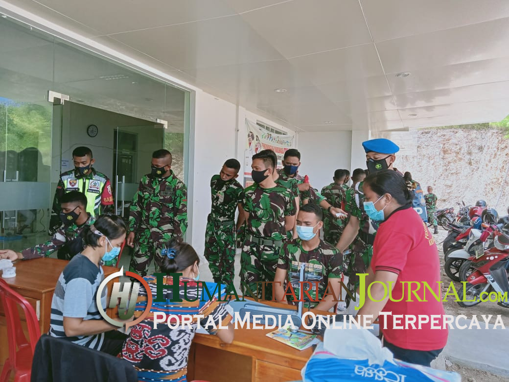 43 Prajurit TNI Lembata Jalani Vaksinasi Covid-19